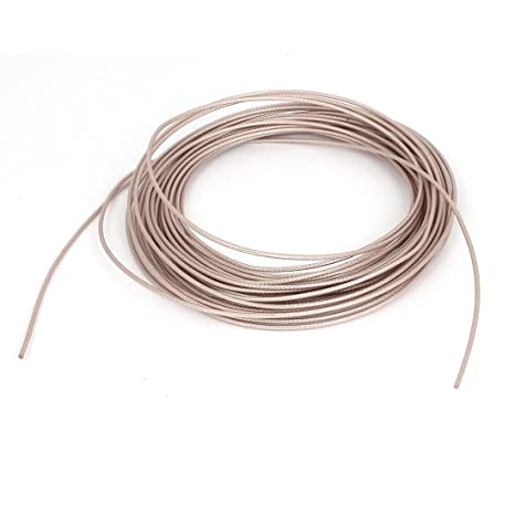 uxcell RG178 Coax Coaxial Cable Lead Low Loss RF Connector Wire 10M Long