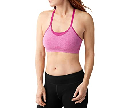 e5bd92635b Amazon.com  SmartWool Women s PhD Seamless Strappy Bra  Sports ...
