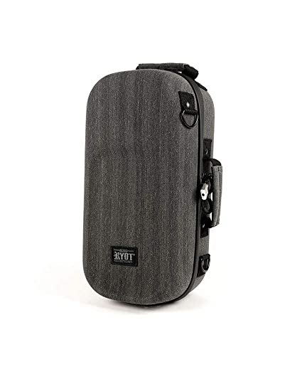 1a73332b3856 RYOT AXE Pack GOO.O Case - Carbon Series with SmellSafe and Lockable  Technology (Black)