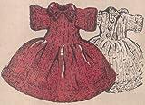 8-Inch Ginny Doll's Knit Dress Knitting Pattern Betsy McCall
