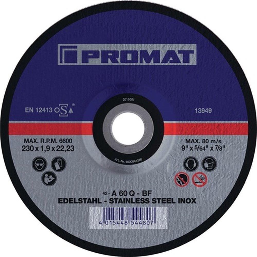 PROMAT Trennscheiben 115 125 230 Flexscheiben Inox Edelstahl Stahl