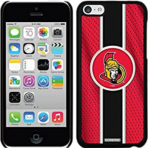 fashion case iphone 5s Black Thinshield Snap-On Case with Ottawa Senators Jersey Stripe Design