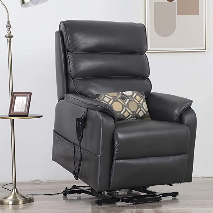 Irene House Recliner Bed Chair With Infinite Position Including Lay Flat and Lift Chair with Dual OKIN Motor