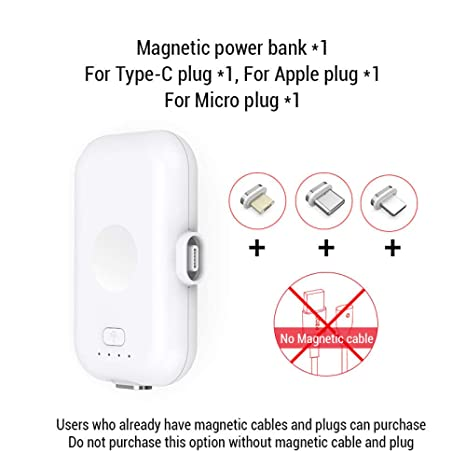 Cynyy Power Bank Micro USB Tipo C 1200Mah Mini Cargador De ...