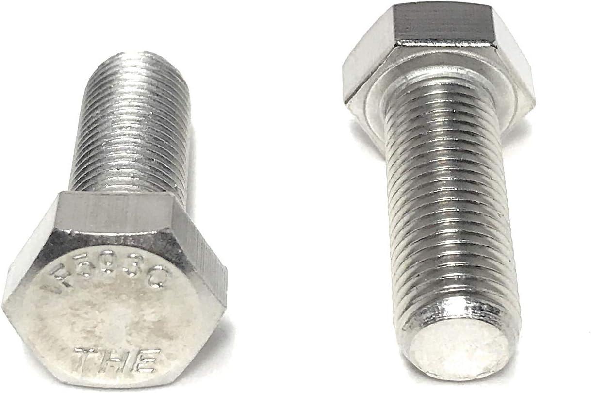 15 pcs FINE THREAD 3//8-24x1 Stainless Steel Hex Cap Screws FT Hex Bolts 18-8 UNF