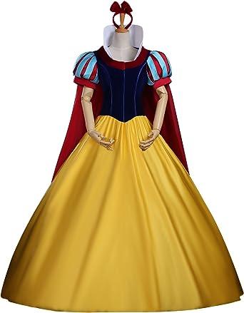 cosrea Disney Snow White – Corpiño de terciopelo completo Adulto ...