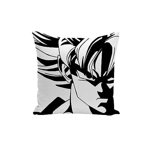 Fabulous Funda de Cojín Dragon Ball Super Son Goku Blanco y ...