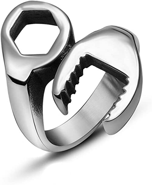 bague homme argent taille 74