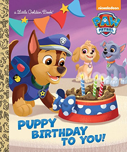 New Years Cupcakes Ideas (Puppy Birthday to You! (Paw Patrol) (Little Golden)