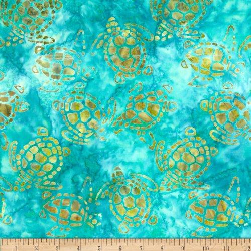 Michael Miller Batik Turtles Fabric product image