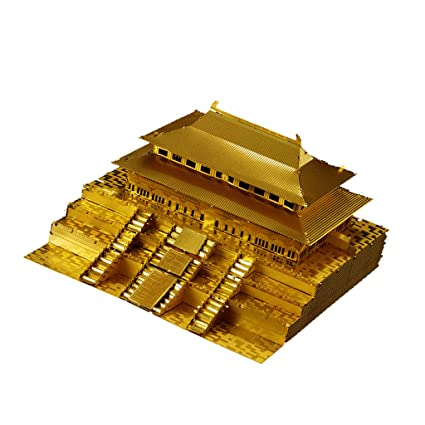 Buy Homyl 1:570 Scale 3D Metalwork Forbidden City Statue