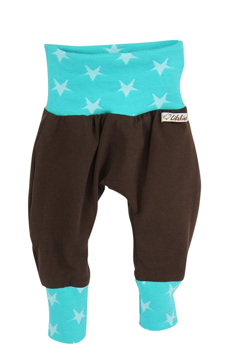 Lilakind Breite Pumphose Hose Babyhose Jersey mit Taschen