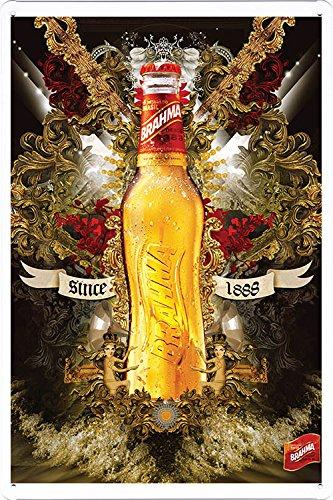 Amazon.com: Brahma Beer Tin Cartel por los alimentos ...