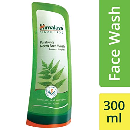 Himalaya Herbals Purifying Neem Face Wash, 300ml