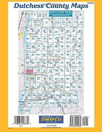 Dutchess County Maps: Jimapco Inc., Topographics Llc: 9781569142479 ...