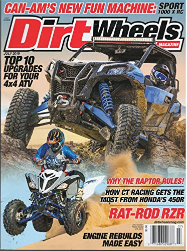 Dirt Wheels Magazine July - Dirt Magazine Wheels