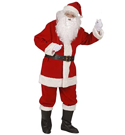 Amazon.com: Professional Santa Suit In Window Box Costume Extra Large For  Father Christmas Fancy Dress: Home Improvement