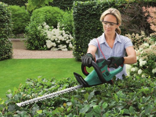 61Qgk%2BVhPyL - Bosch AHS 60-26 Electric Hedge Cutter, 600 mm Blade Length, 26 mm Tooth Opening