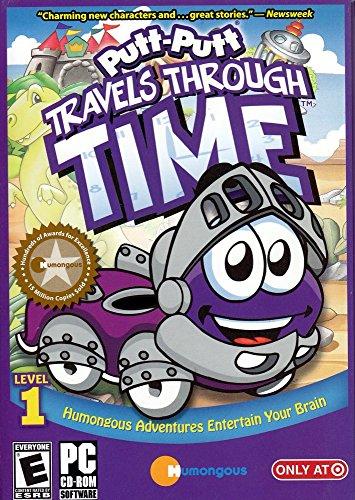 Humongous Entertainment PUTT PUTT TRAVELS THROUGH TIME