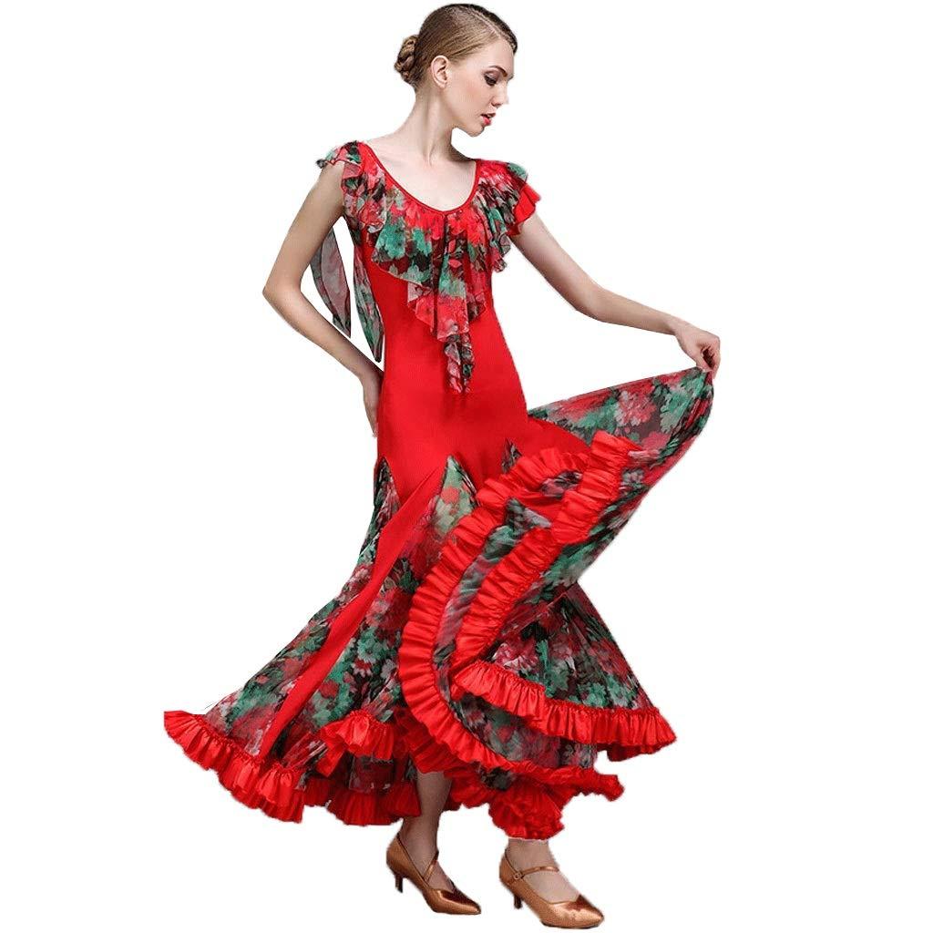 今年も話題の 現代のダンスのスカートのパフォーマンスのドレスの女性のサテンのスカートのスカート全国標準の社交ダンスの衣装 B07QD5XC3V B07QD5XC3V レッド XL|レッド XL|レッド レッド XL, セカンド:79b9daaf --- a0267596.xsph.ru
