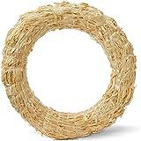 FloraCraft Straw Wreath Form 12 Inch Natural