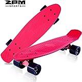 スケボー ミニ スケートボード クルーザー 22インチ コンプリート タイプ ABEC7ベリアング 採用