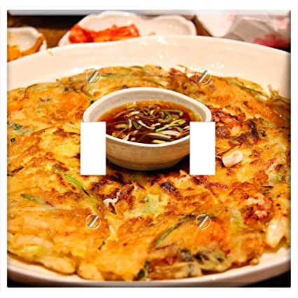 Switch Plate Double Toggle - Delicious Korean Food Kimchi Pancake