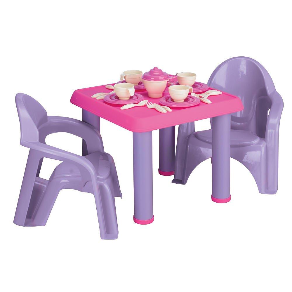 sc 1 st  Amazon.com & Amazon.com: American Plastic Toy 28 Piece Tea Party Set: Toys \u0026 Games