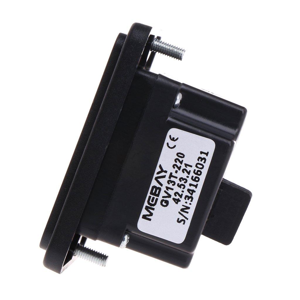 GV13T AC220V Diesel Generator Digital Voltmeter Frequency Hour Test Panel Meter