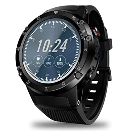 Amazon.com: 4G Smart Watch, GPS/GLONASS Android Watch Quad ...