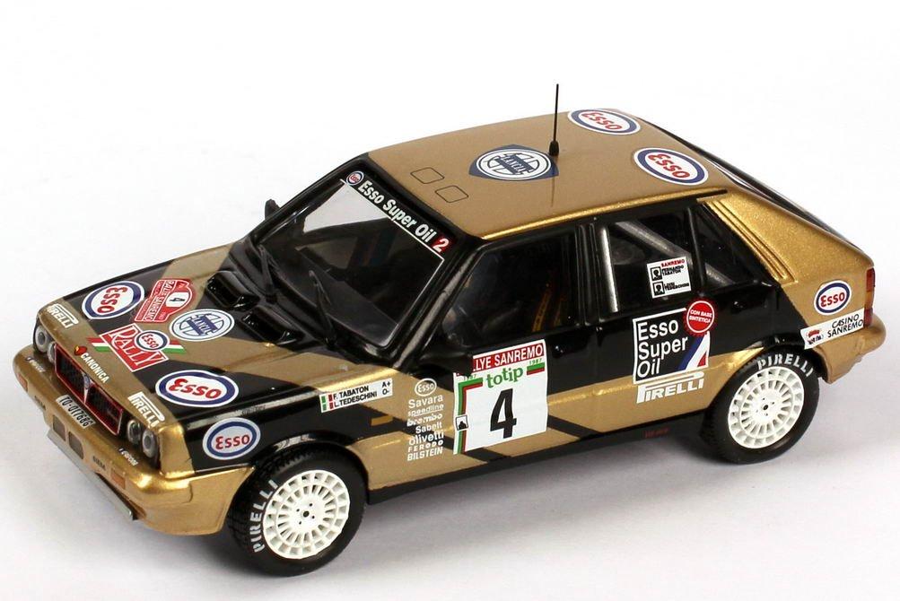Ixo SCR004 Lancia Delta HF Esso Rally Rally Rally San Remo 1987 Die-Cast Standmodell 1:43 398bfc