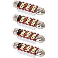 LABLT Super Bright 578 Festoon LED Bulb White 41mm 42mm LED Bulb Canbus Error Free 12-SMD 4014 Chipset 212-2 Dome Light…