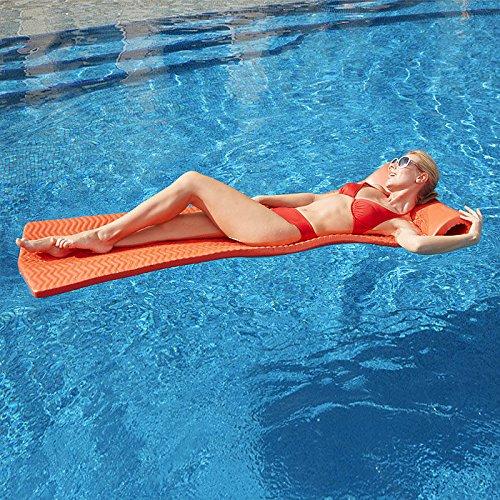 (TRC Recreation Serenity Ripple Pool Float, Yellow)