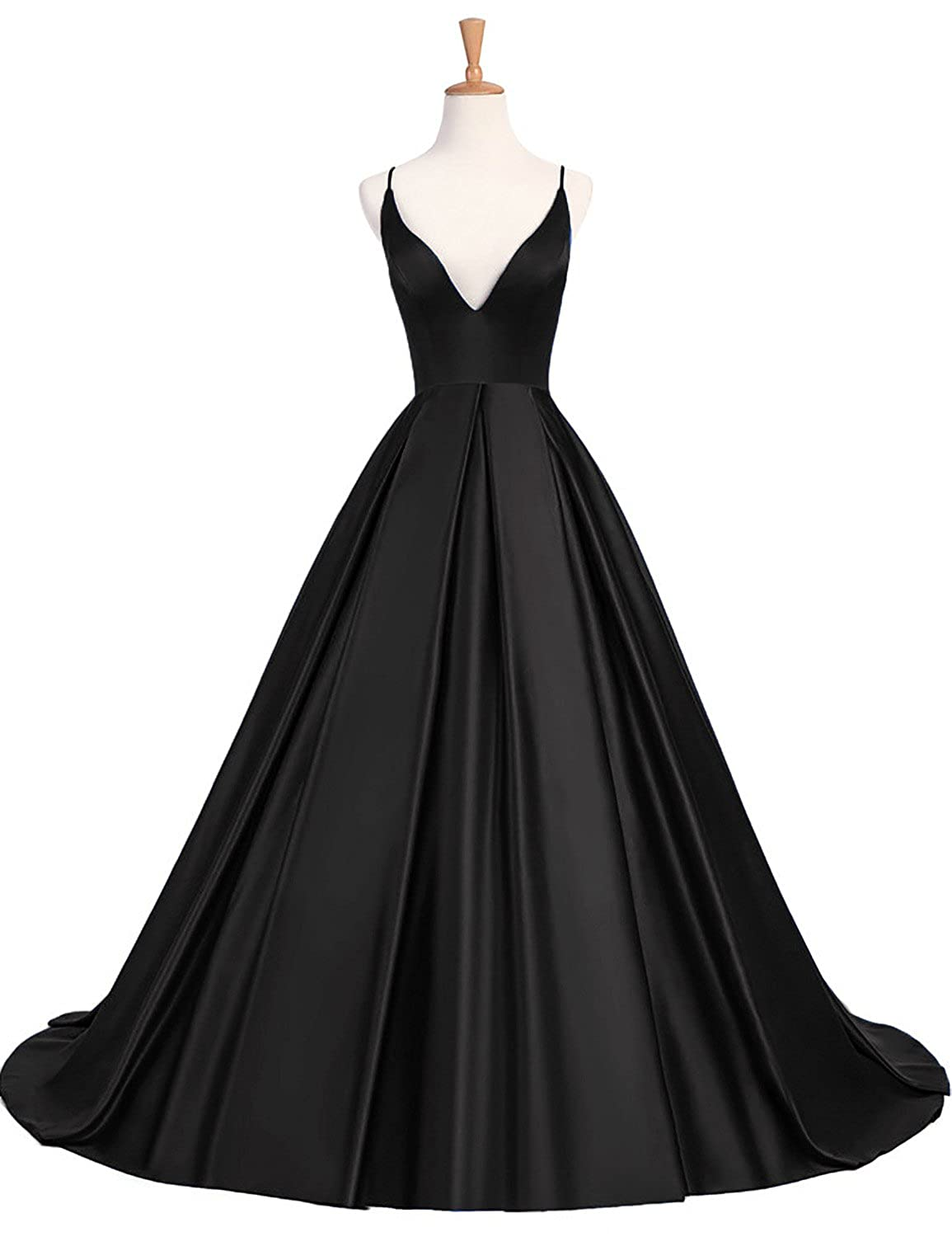e93c71e6f21b BEAUTBRIDE Women s Sexy V-Neck Long Prom Gown Backless Evening Dresses  BEPMD04 at Amazon Women s Clothing store