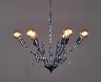 Lampenschirme Klein Kronleuchter ~ Mmm industriellen stil kronleuchter eisen lampe körper eisen
