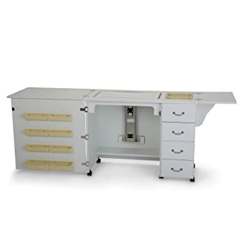 Norma Jean Wooden Sewing Table Desk Finish