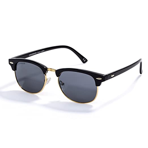 a29d0f0e5c39 Amazon.com: Semi-Rimless Sunglasses, Women Men Classic Glasses Shades  Polarized UV 400 with Protection Case: Clothing