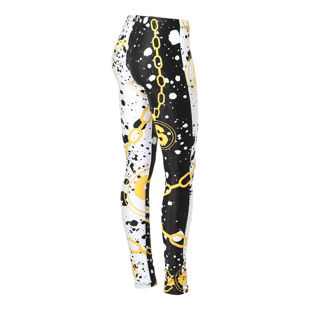 Alexandra Collection Youth Cash Mo Money Athletic Leggings Multi Large
