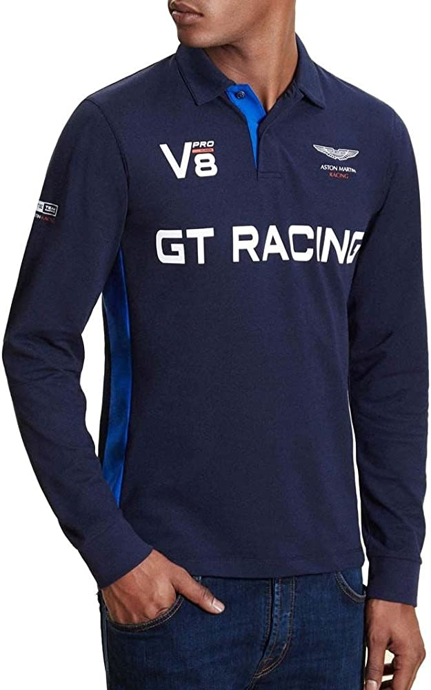 Polo Hackett Aston Martin Racing TC GTR LS - Color - Azul, Talla ...