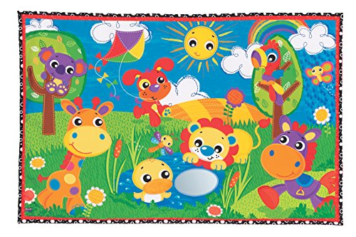 (Playgro Party in The Park Super Mat for Baby Infant Toddler Children 0186364, Playgro is Encouraging Imagination with STEM/STEM for a Bright Future - Great Start for a World of Learning)
