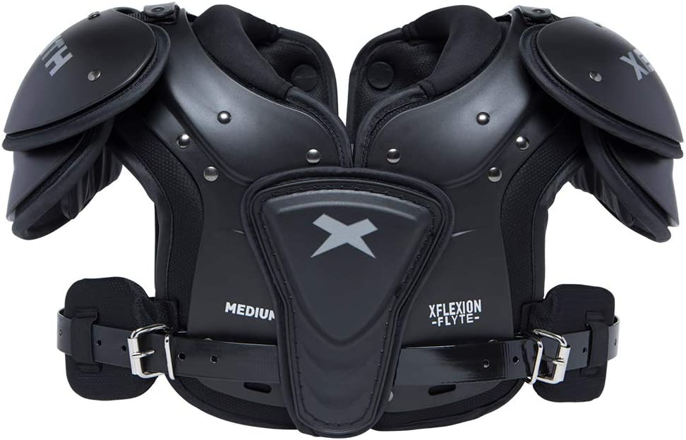 Xenith Flyte Youth Football Shoulder Pads for Kids and Juniors - All Purpose Protective Gear : Sports & Outdoors