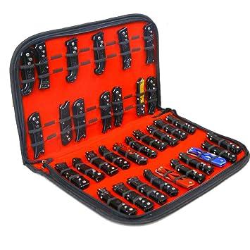 Estuche expositor de cuchillos de bolsillo bolsa de almacenamiento para herramientas