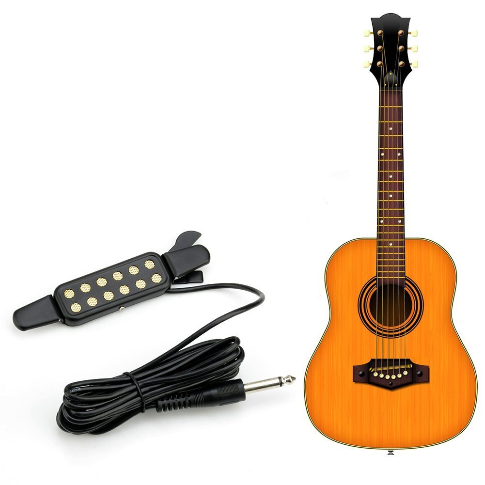 29 Inches Wire Length 1 4 Inch Output Jack Guitar Pickups 3 In Wiring A Out Put Microphone Contact