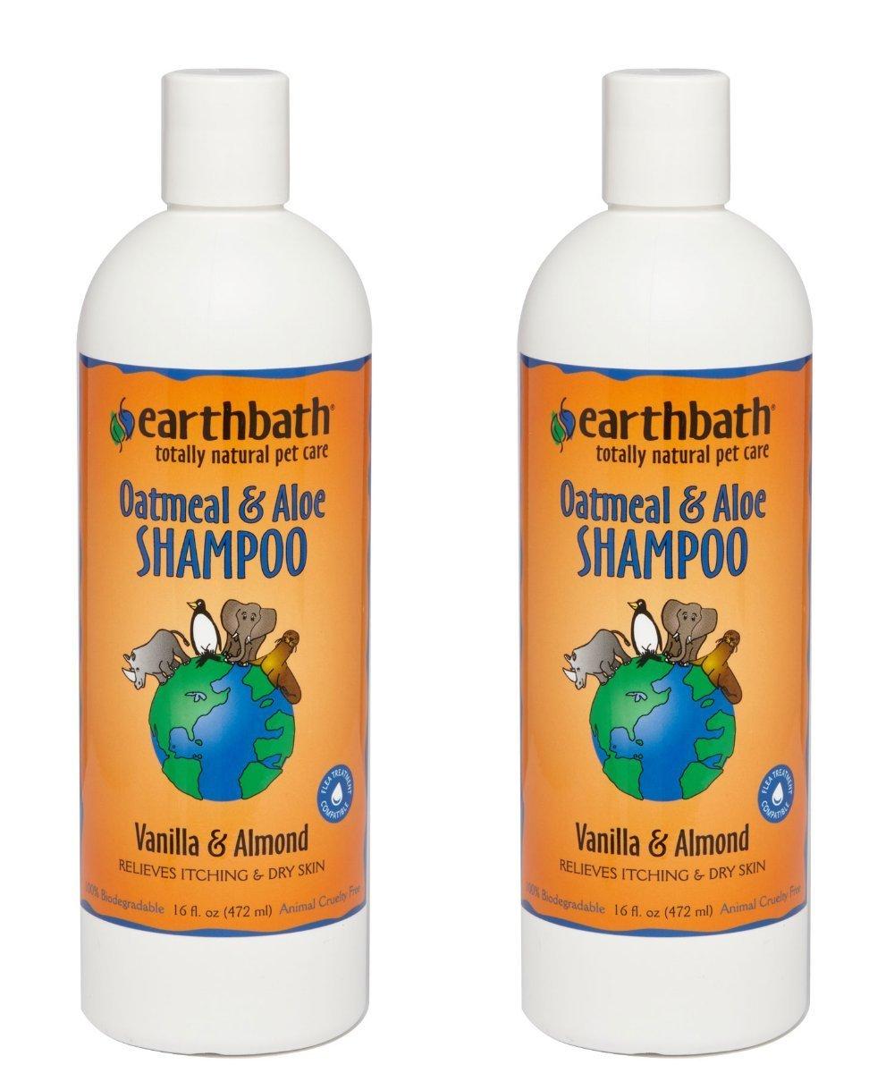 Earthbath 84002-2 All Natural Shampoo (2 Pack), 16 oz