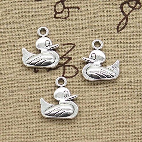 (20pcs Charms duck 19x16mm Antique Making Vintage Tibetan Silver Zinc Alloy Pendant)