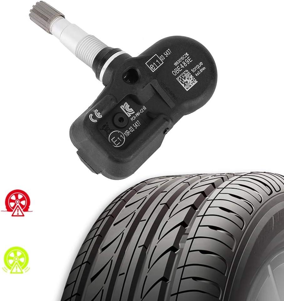 sensore di monitoraggio della pressione dei pneumatici TPMS 4 pezzi PMV-C210 per RAV4 2014 Sensore di pressione dei pneumatici