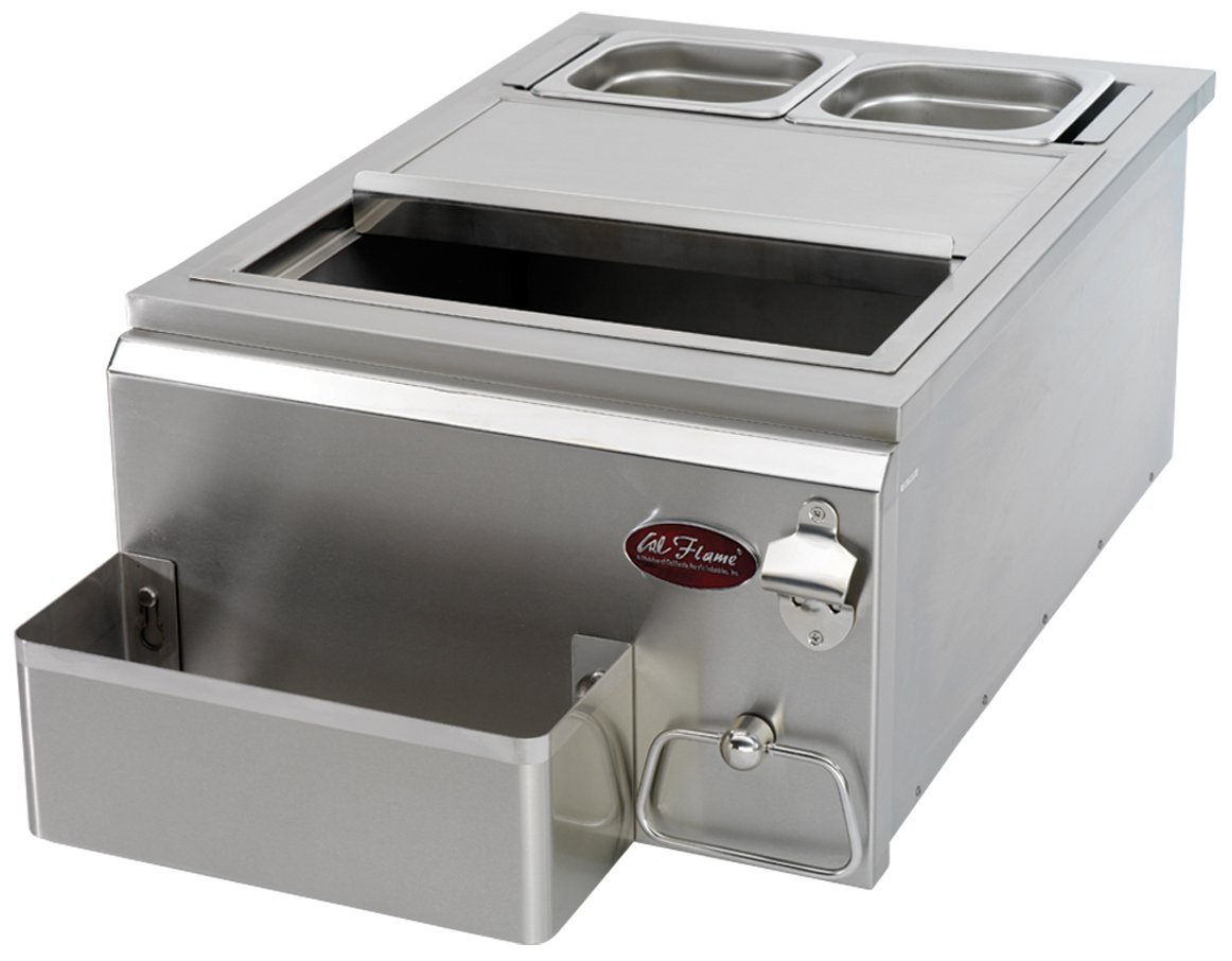 CalFlame BBQ07842P-18-A 18-Inch Cocktail Center