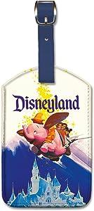 Pacifica Island Art Leatherette Luggage Baggage Tag - Disneyland Dumbo