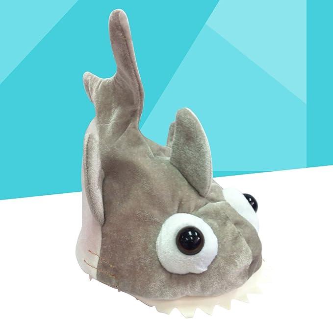 STOBOK Sombrero de Tiburón de Felpa para Traje de Disfraz de ...