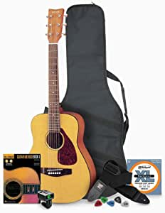 Yamaha JR1 3/4 Size Acoustic Guitar with Gig Bag and Accessories Bundle